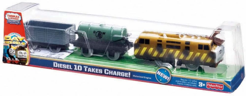 Diesel 10 Takes Charge - Trackmaster