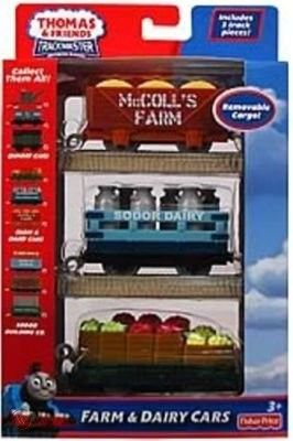 Farm and Dairy Cars - Trackmaster