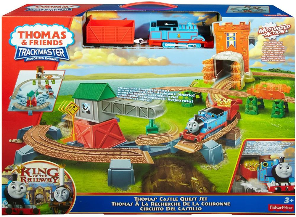 THOMAS CASTLE QUEST SET - KING OF THE RAILWAY - Trackmaster