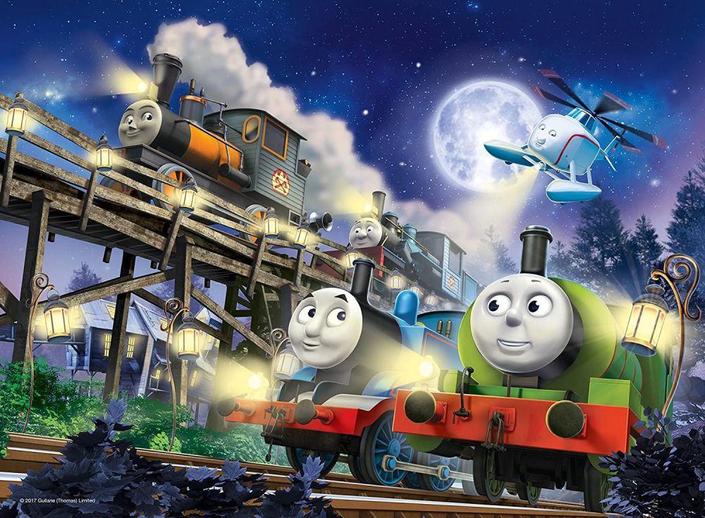 Thomas & Friends Glow In The Dark XL Puzzle 60 Pcs  - Ravensberger