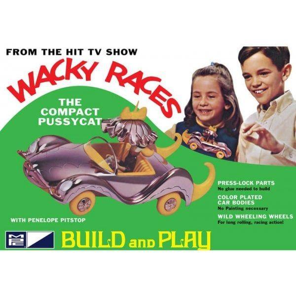 Wacky Races - Compact Pussycat (SNAP) Skill 2 Model - MPC