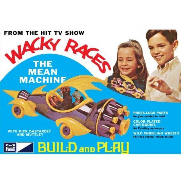 Wacky Races - Dick Dastardly's Mean Machine (SNAP) Skill 2 Model - MPC