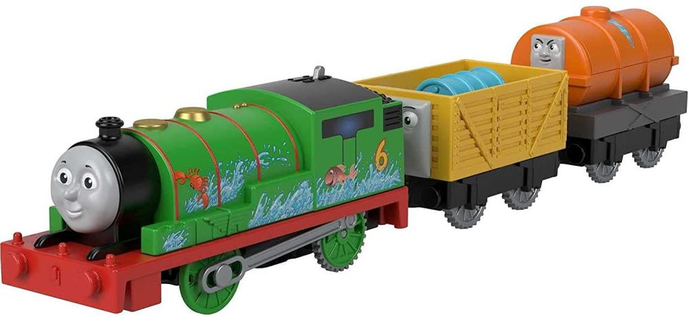 Percy and Troublesome Trucks - Thomas Motorized