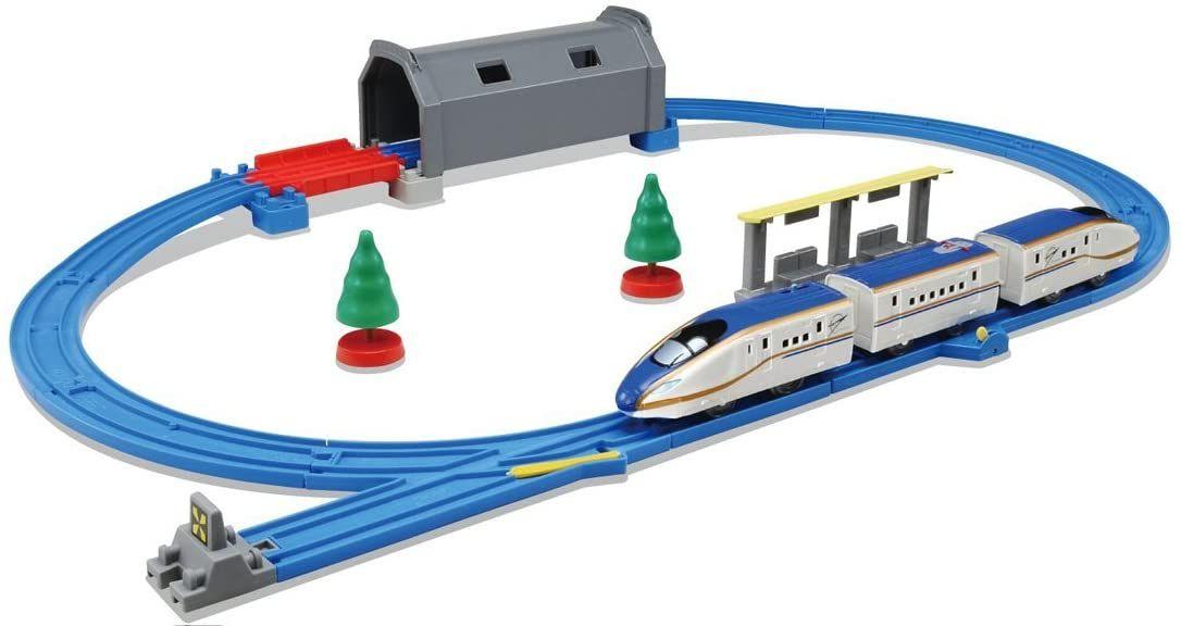 Light Up The Tunnel and Light-up E7 Shinkansen Kagayaki Basic Set
