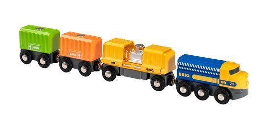 Three-Wagon Cargo Train - Brio