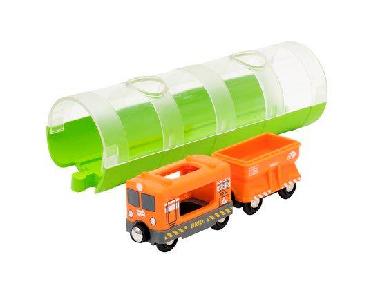 Cargo Train & Tunnel - Brio
