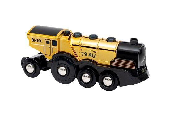 Mighty Gold Action Locomotive - Brio