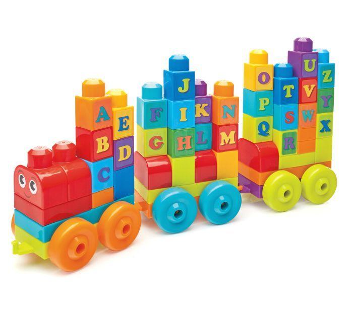 Mega Bloks First Builders ABC Learning Train