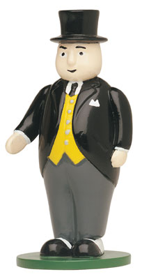 SIR TOPHAM HATT FIGURE - THE FAT CONTROLLER - BACHMANN THOMAS AND FRIENDS