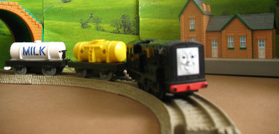 DEVIOUS DIESEL -TOMY THOMAS AND FRIENDS / TRACKMASTER