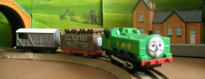 DUCK -TOMY THOMAS AND FRIENDS / TRACKMASTER