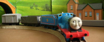 EDWARD -TOMY THOMAS AND FRIENDS / TRACKMASTER
