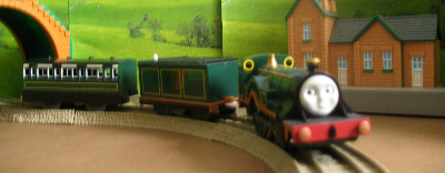 EMILY -TOMY THOMAS AND FRIENDS / TRACKMASTER