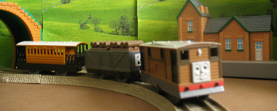 TOBY -TOMY THOMAS AND FRIENDS / TRACKMASTER
