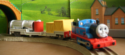 THOMAS AND THE JET ENGINE -TOMY THOMAS AND FRIENDS / TRACKMASTER