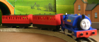 SIR HANDEL -TOMY THOMAS AND FRIENDS / TRACKMASTER