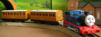 THOMAS - STEAM -TOMY THOMAS AND FRIENDS / TRACKMASTER