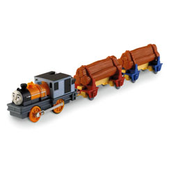 DASH THE LOGGING LOCO - TRACKMASTER/FISHER PRICE