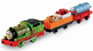 PERCY AND THE SEARCH AND RESCUE CARS - TRACKMASTER/FISHER PRICE