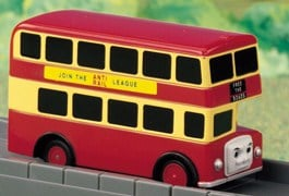 BULGY THE BUS - RED
