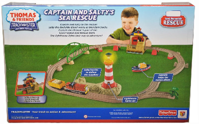 CAPTAIN AND SALTY'S SEA RESCUE