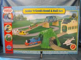 SODOR FRIENDS ROAD AND RAIL SET