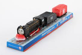 HIRO AND HIS SNOW PLOUGH - TRACKMASTER/FISHER PRICE