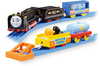 HIRO AND AQUARIUM CARS - TRACKMASTER/FISHER PRICE