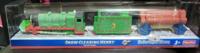 HENRY AND SNOW PLOUGH - TRACKMASTER/FISHER PRICE