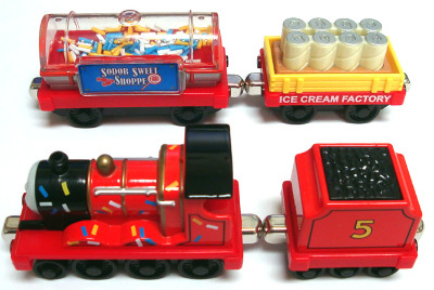 JAMES' ICE CREAM EXPRESS - TAKE N PLAY