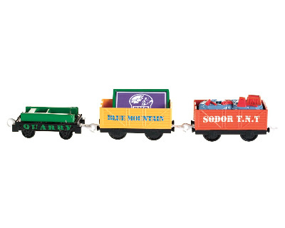 BLUE MOUNTAIN QUARRY BLAST TRUCK PACK - TRACKMASTER