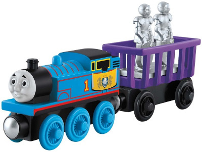 THOMAS' CASTLE DELIVERY - KING OF THE RAILWAY WOODEN