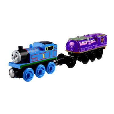 Thomas and Battery Operated Booster Steam Car - Thomas Wooden
