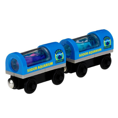 Aquarium Cars - Thomas Wooden
