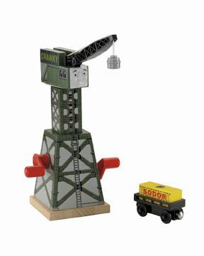 Cranky the Crane - Thomas Wooden