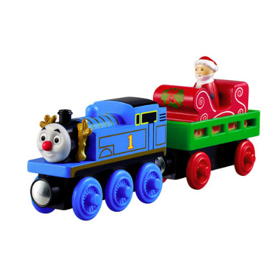 Santa's Little Engine - Thomas Wooden