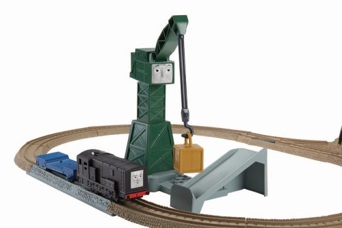 Cranky's Spinning Cargo Playset - Trackmaster