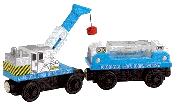 Ice Delivery Train - Thomas Wooden