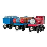 Skarloey and the Gravel Cars - Thomas Wooden