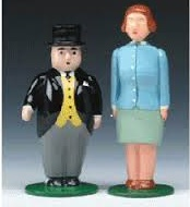 Sir Topham Hatt and Lady Hatt - Ertl
