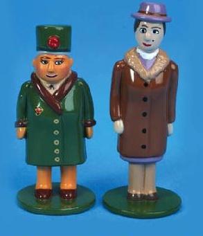 Dowager Hatt and Mrs Kyndley - Ertl
