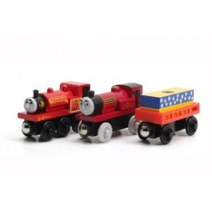Skarloey and the Puppet Show - Thomas Wooden