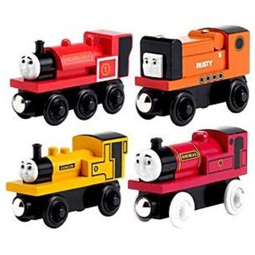 Narrow Gauge Engine 4 Pack - Thomas Wooden