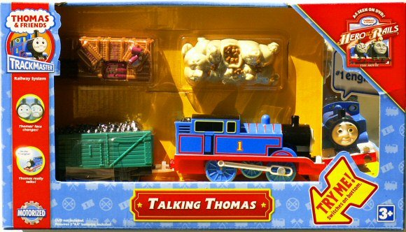 Tootally Thomas Talking Thomas Trackmaster