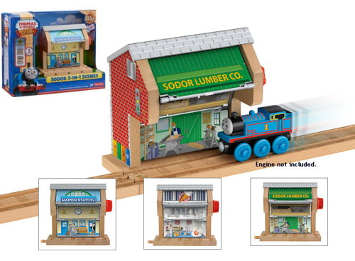 Sodor 3-in-1 Destination - Thomas Wooden