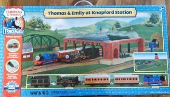 Thomas and Emily at Knapford Station - Trackmaster