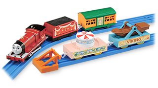 James and the Amusement Park - Tomy/Trackmaster