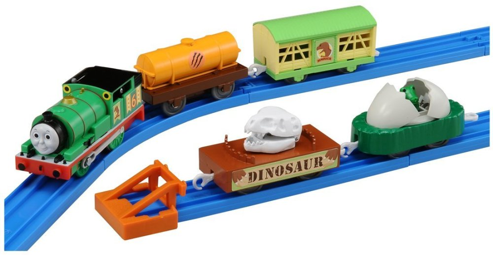 Percy and the Dinosaur Wagons - Tomy/Trackmaster