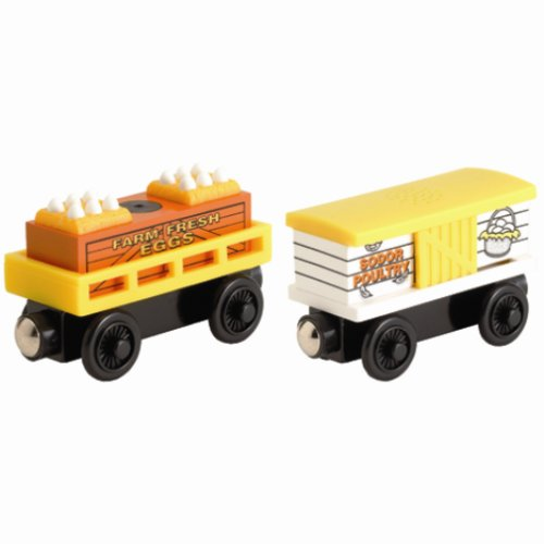Chicken Cars - Thomas Wooden