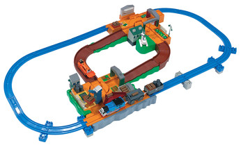 THOMAS AND TERENCE DELUXE ACTION SET